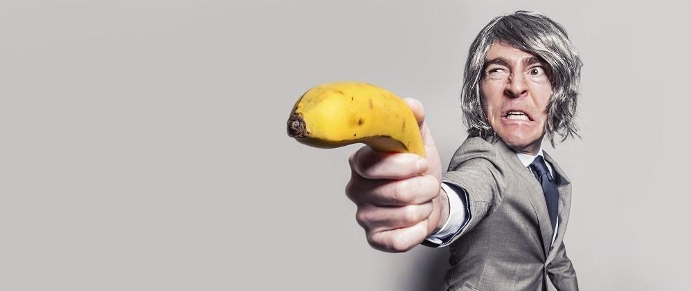 Angry man Bob self awareness