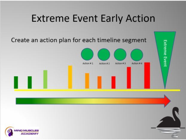 Black Swan Extreme Event early action